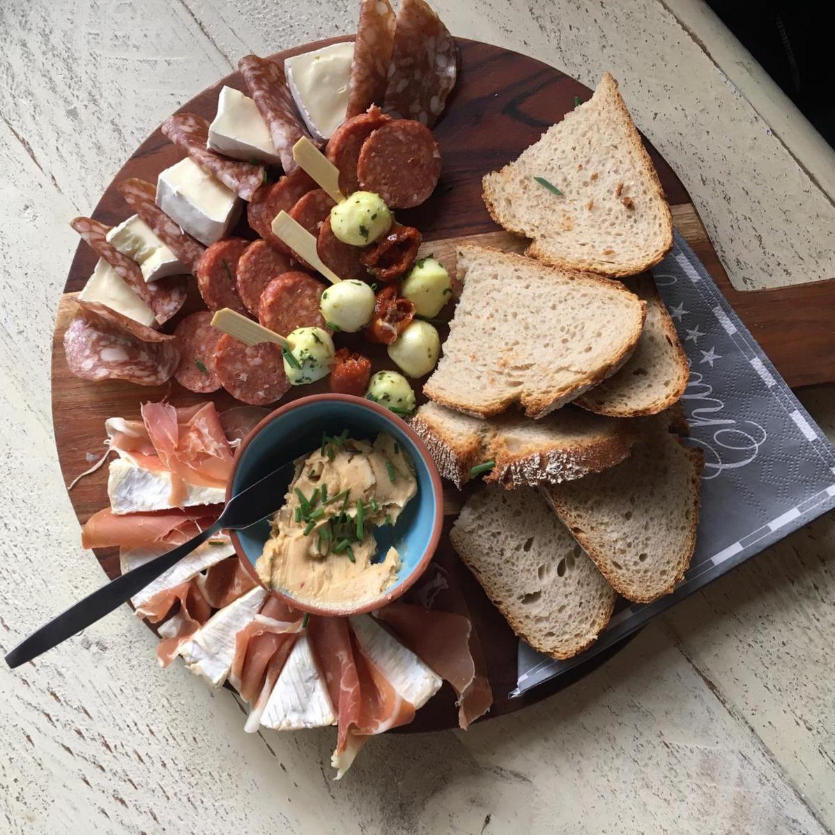 Brasserie De Maasnimf - Broodplankje